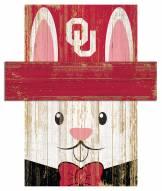 "Oklahoma Sooners 6"" x 5"" Easter Bunny Head"