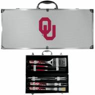 Oklahoma Sooners 8 Piece Tailgater BBQ Set