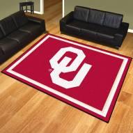 Oklahoma Sooners 8' x 10' Area Rug