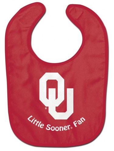 Oklahoma Sooners All Pro Little Fan Baby Bib