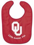 Oklahoma Sooners All Pro Little Fan Baby Bib