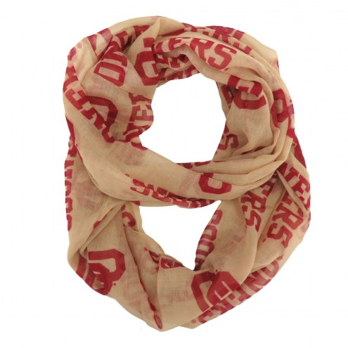 Oklahoma Sooners Alternate Sheer Infinity Scarf