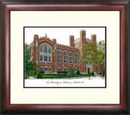 Oklahoma Sooners Alumnus Framed Lithograph