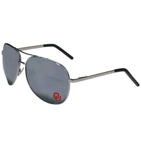 Oklahoma Sooners Aviator Sunglasses