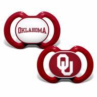 Oklahoma Sooners Baby Pacifier 2-Pack