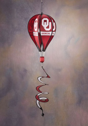 Oklahoma Sooners Balloon Wind Spinner