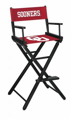Oklahoma Sooners Bar Height Director's Chair