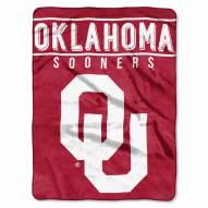 Oklahoma Sooners Basic Raschel Blanket