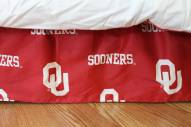 Oklahoma Sooners Bed Skirt