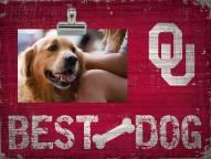 Oklahoma Sooners Best Dog Clip Frame