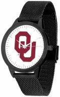 Oklahoma Sooners Black Mesh Statement Watch