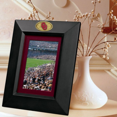 Oklahoma Sooners Black Picture Frame
