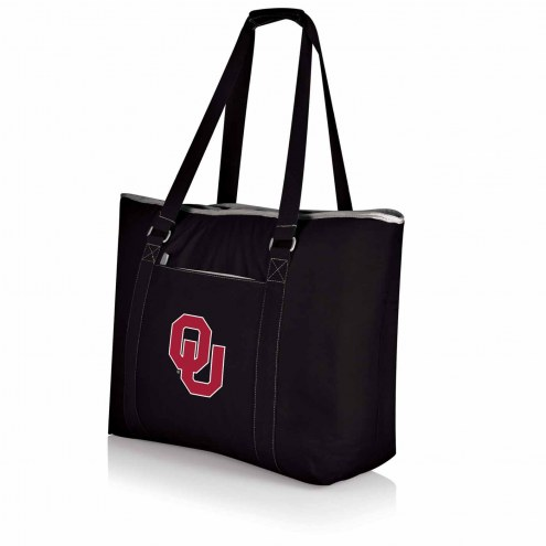 Oklahoma Sooners Black Tahoe Beach Bag