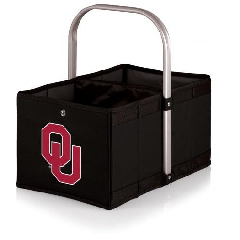 Oklahoma Sooners Black Urban Picnic Basket