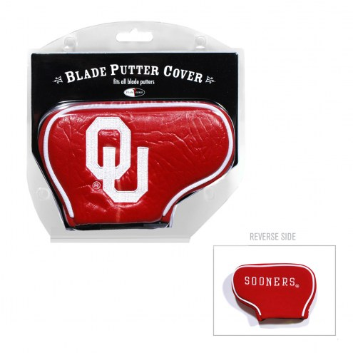 Oklahoma Sooners Blade Putter Headcover