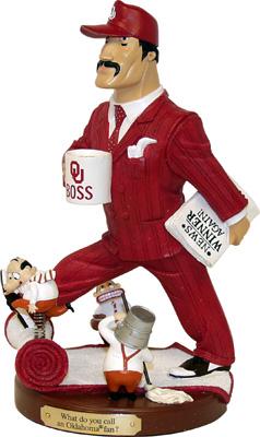 Oklahoma Sooners Boss Rivalry Figurine