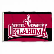 Oklahoma Sooners 3' x 5' There's Only One Flag