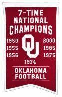 Oklahoma Sooners Champs Banner