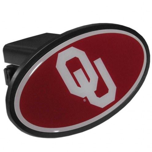 Oklahoma Sooners Class III Plastic Hitch Cover