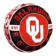 Oklahoma Sooners Cloud Travel Pillow