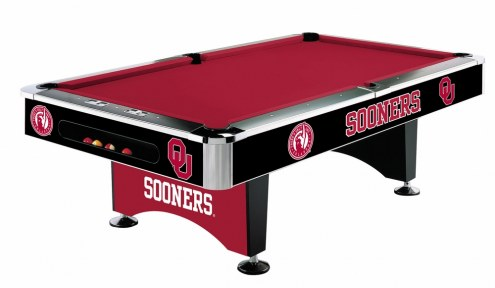 Oklahoma Sooners NCAA Pool Table