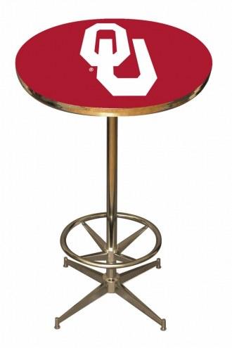Oklahoma Sooners College Team Pub Table