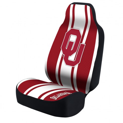 Oklahoma Sooners College Universal Bucket Car Seat Cover