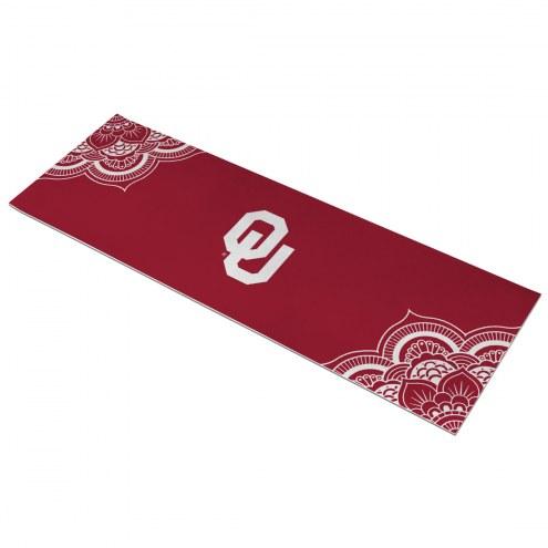 Oklahoma Sooners Color Yoga Mat