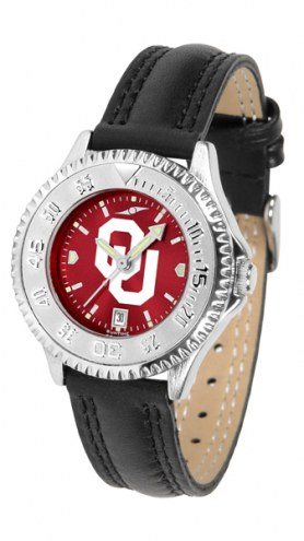 Oklahoma Sooners Competitor AnoChrome Women's Watch