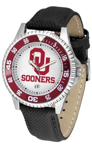 Oklahoma Sooners Competitor Men's Watch