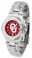 Oklahoma Sooners Competitor Steel AnoChrome Women's Watch