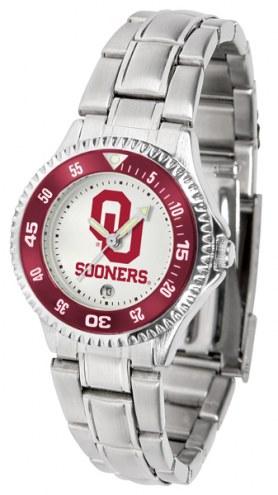 Oklahoma Sooners Competitor Steel Women's Watch