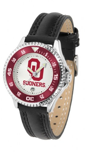 Oklahoma Sooners Competitor Women's Watch