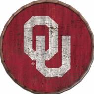 "Oklahoma Sooners Cracked Color 24"" Barrel Top"