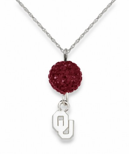Oklahoma Sooners Crystal Ovation Necklace