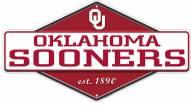 Oklahoma Sooners Diamond Panel Metal Sign