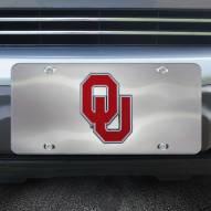Oklahoma Sooners Diecast License Plate
