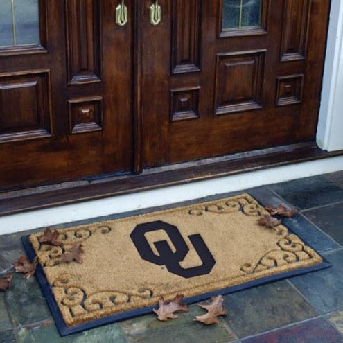 Oklahoma Sooners Door Mat