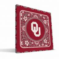 Oklahoma Sooners Eclectic Canvas Print