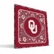 Oklahoma Sooners Eclectic Canvas Print