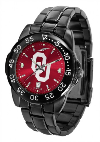 Oklahoma Sooners Fantom Sport AnoChrome Men's Watch