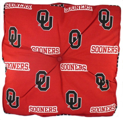 Oklahoma Sooners Floor Pillow
