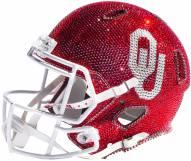 Oklahoma Sooners Full Size Swarovski Crystal Football Helmet
