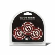 Oklahoma Sooners Golf Chip Ball Markers