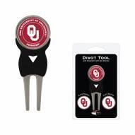 Oklahoma Sooners Golf Divot Tool Pack