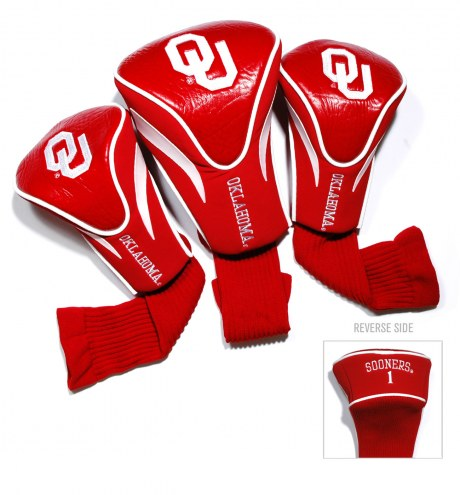 Oklahoma Sooners Golf Headcovers - 3 Pack