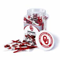 Oklahoma Sooners 175 Golf Tee Jar