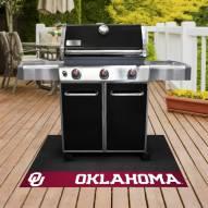 Oklahoma Sooners Grill Mat