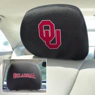 Oklahoma Sooners Headrest Covers