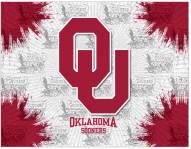 Oklahoma Sooners Logo Canvas Print
